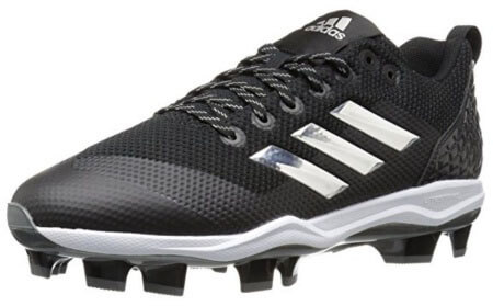 Adidas PowerAlley 5 TPU molded baseball cleats