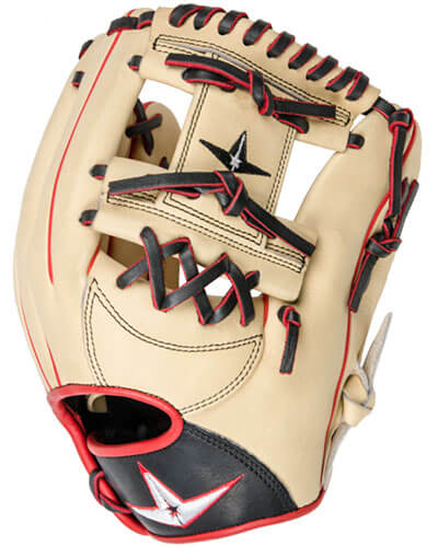 All-Star Pro-Elite 11.5-Inch Infield Baseball Glove (FGAS-1150I-CSB)
