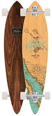 """Arbor Fish 37"""" Groundswell Complete Longboard"""