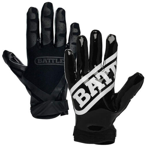 Battle Ultra-Stick Football Receiver Gloves