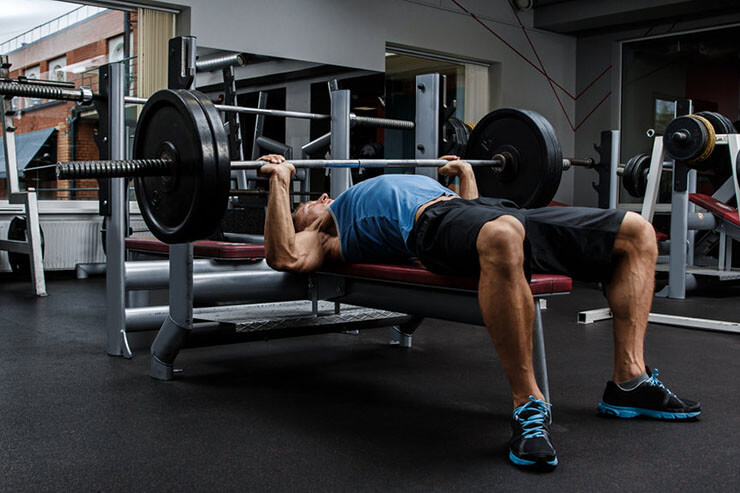 bench press to make your arms stronger for baseball