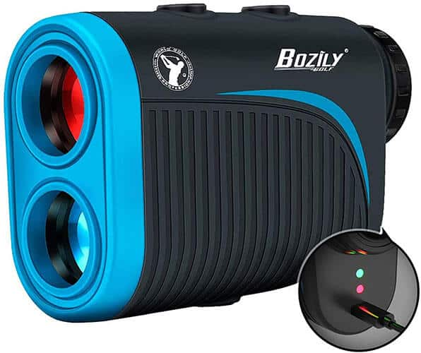 Bozily X3 Rechargeable Golf Rangefinder with Slope