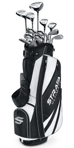 Callaway Strata Ultimate 18-Piece Golf Club Set