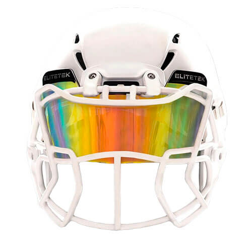 EliteTek Colored Football Visor
