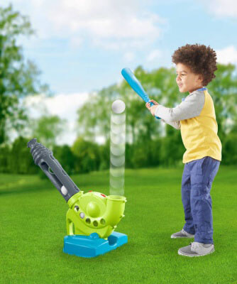 Fisher-Price Grow-to-Pro - amazing baseball machine for 5 year old