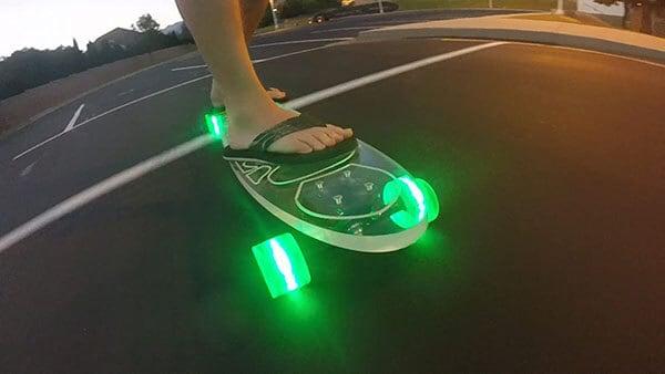 Ghost Light 'em Up Ride 'em Complete Longboard