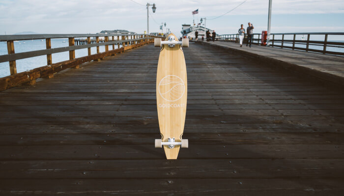 GoldCoast Classic Bamboo Pintail longboard review