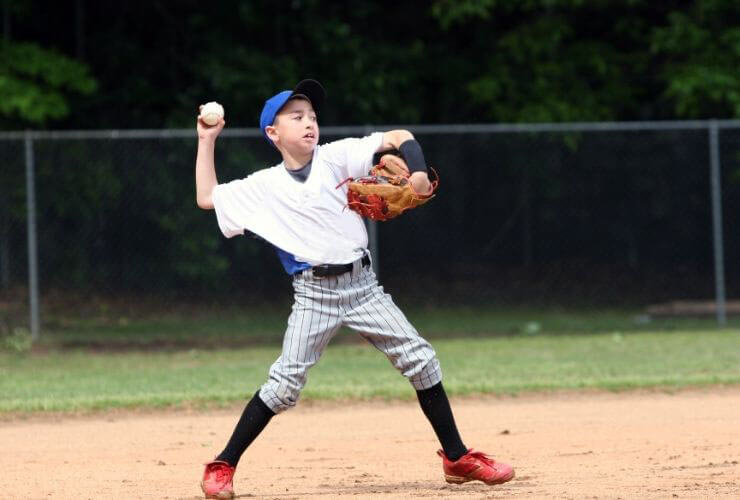 increase arm strength for baseball with long toss