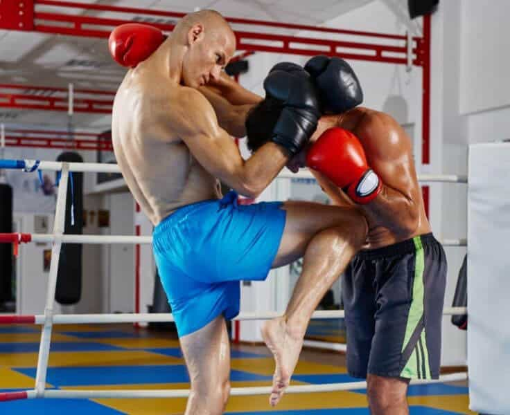 knee strike from the Muay Thai clinch