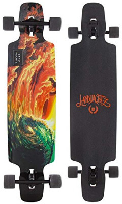 "Landyachtz Drop Carve 40"" Oceanspray Complete Longboard"