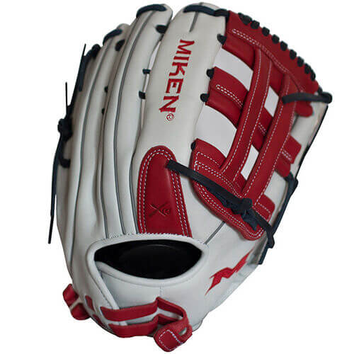 Miken Pro Series 13-Inch Slowpitch Softball Glove (PRO130-WSN)