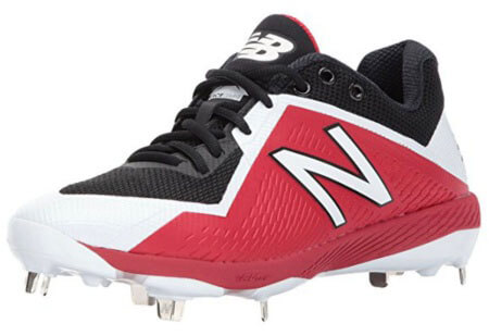 New Balance L4040V4 metal baseball shoes