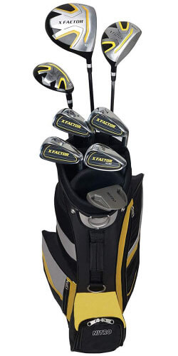 Nitro X Factor Mens Complete Golf Club Set