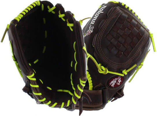 Nokona X2 Elite Neon fastpitch softball glove (X2F-1250)