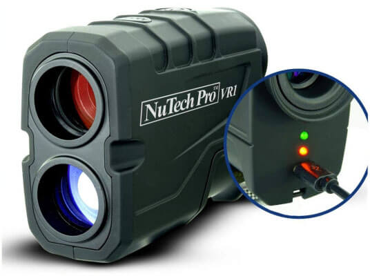 NuTech Pro VR1 Rechargeable Golf Rangefinder