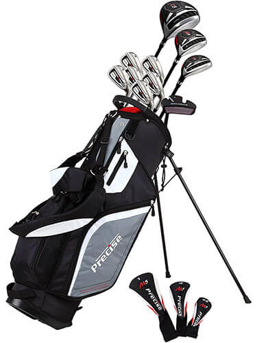 Precise M5 14-Piece Complete Golf Club Package Set