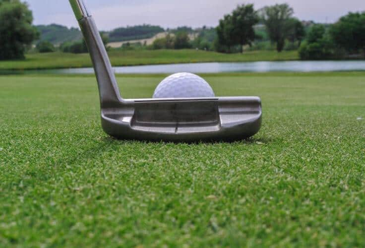 putter - most used type of golf club