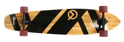 Quest Super Cruiser 44-Inch Bamboo Longboard (QT-NSC44C)