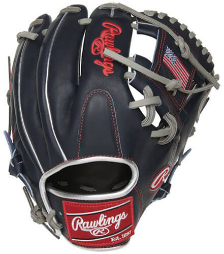 Rawlings Heart of the Hide 11.5-Inch USA Infield Glove (PRO204-2USA)