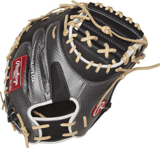 Rawlings Heart of the Hide Hyper Shell 34-Inch Catcher's Mitt (PROCM41BCF)