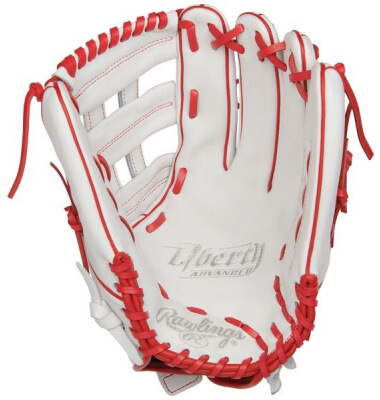 Rawlings Liberty Advanced 13-Inch fastpitch glove (RLA130-6W)