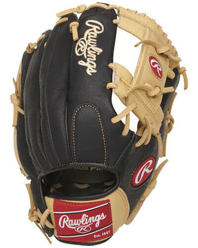 Rawlings Prodigy 11.5-Inch Youth Infield Baseball Glove (P115CBI)