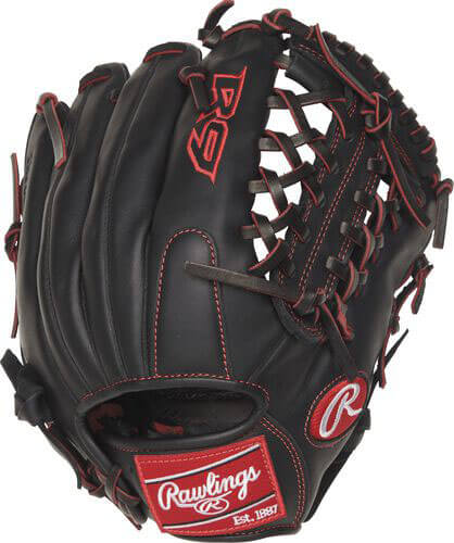 Rawlings R9 Series 11.5-Inch Youth Baseball Glove (R9YPT4-4B)