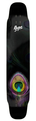 Rayne Whip 41-inch Complete Longboard (Peacock)