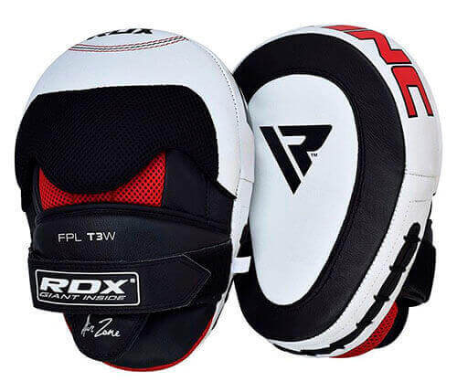 RDX T3 Curved Boxing Training Punch Mitts