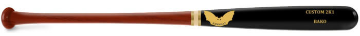 Sam Bat 2K1 Custom Maple Wood Baseball Bat