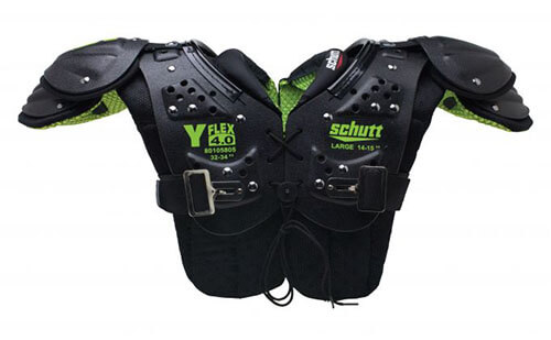Schutt Sports Y-Flex 4.0 All-Purpose Football Shoulder Pad