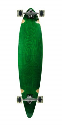 SCSK8 Natural Blank & Stained Assembled Complete Longboard