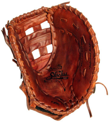 Shoeless Joe Jane 13-inch first base mitt (1300FPFB)