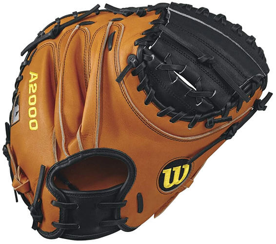 Wilson A2000 32.5-Inch Catcher's Mitt (WTA20RB17PUDGE)
