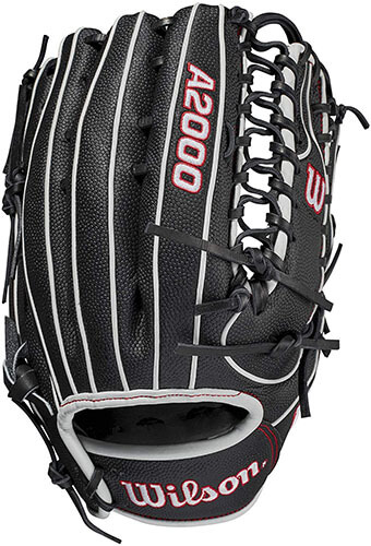Wilson A2000 SuperSkin OT7 Spin Control 12.75-Inch Outfield Glove (WBW1001561275)
