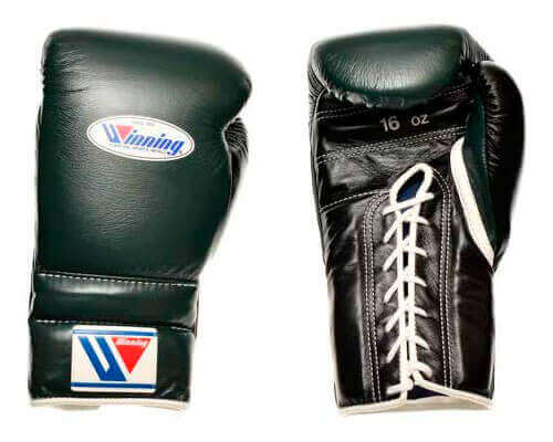 Winning Lace-up Boxing Gloves